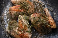 Carne do coelho Fotografia de Stock