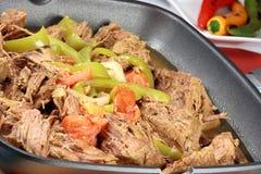 Carne do mexicano de Machaca fotos de stock royalty free