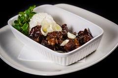 Carne do Mongolian Fotografia de Stock Royalty Free