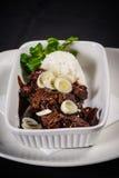 Carne do Mongolian Imagem de Stock Royalty Free