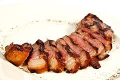 Carne do peito da carne de porco Fotografia de Stock Royalty Free