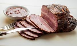 Carne do peito de carne Imagem de Stock