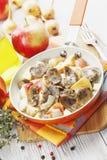 Carne dos rins na cidra Foto de Stock