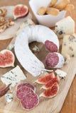 Carne e formaggio Immagini Stock