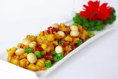 Carne e pimentão Fotografia de Stock