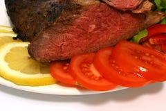 Carne e vegetais fritados Foto de Stock Royalty Free