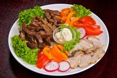 Carne e verdura allsorts Immagine Stock Libera da Diritti