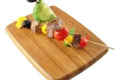 Carne e verdure Immagini Stock Libere da Diritti