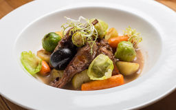Carne e verdure Fotografia Stock