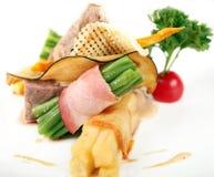 Carne e verdure Fotografia Stock Libera da Diritti