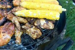 Carne e verdure cotte Immagine Stock Libera da Diritti