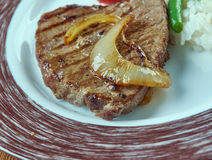 Carne een La-tampiquena Royalty-vrije Stock Afbeeldingen