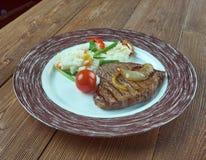 Carne ein La tampiquena Stockbild