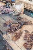 Carne em Belen Market em Iquitos imagens de stock royalty free