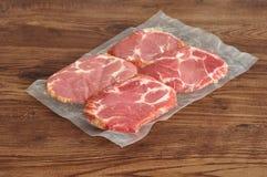 Carne empaquetada al vacío Foto de archivo libre de regalías