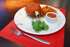 Carne en el hueso 2 Foto de archivo libre de regalías
