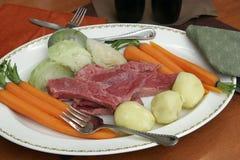 Carne en lata Fotos de archivo