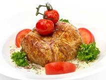 Carne enchida com cuscuz Imagem de Stock Royalty Free