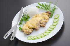 Carne in francese Fotografia Stock