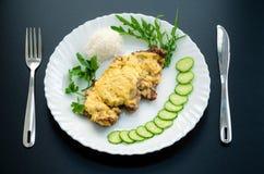 Carne in francese Immagini Stock Libere da Diritti