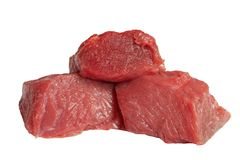 Carne fresca. Fotografie Stock