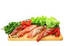 Carne fresca Fotografie Stock Libere da Diritti