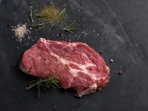 Carne fresca crua Fotos de Stock Royalty Free