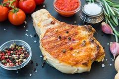 Carne fresca da crosta no osso Foto de Stock Royalty Free