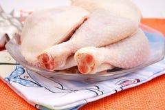 Carne fresca da galinha foto de stock