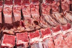 Carne fresca di carne di maiale Fotografia Stock Libera da Diritti
