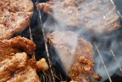 Carne fresca sulla griglia Immagine Stock Libera da Diritti