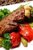 Carne frita Imagen de archivo