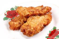 Carne fritta immagini stock libere da diritti