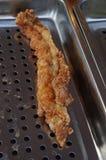 Carne fritta dell'alligatore Fotografia Stock Libera da Diritti