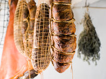 Carne fumada imagem de stock royalty free