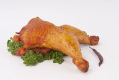 Carne fumada Fotografia de Stock Royalty Free