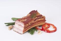 Carne fumada Fotos de Stock