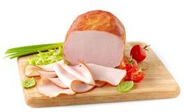Carne fumado imagem de stock