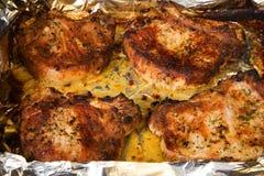 Carne grelhada 1 Fotografia de Stock