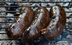 Carne grelhada Fotos de Stock Royalty Free