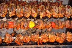 Carne grelhada Fotografia de Stock