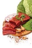 Carne grezza immagini stock