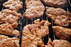 Carne grezza da cuocere Immagine Stock Libera da Diritti