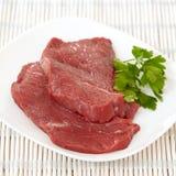 Carne grezza fresca Fotografie Stock Libere da Diritti