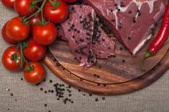 Carne grezza fresca Immagini Stock Libere da Diritti