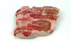 Carne grezza isolata Fotografia Stock