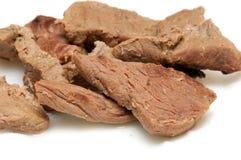 Carne hervida Foto de archivo libre de regalías
