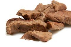 Carne hervida Fotografía de archivo libre de regalías