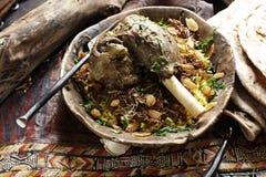 Carne hervida cocinada imagen de archivo