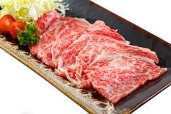 Carne japonesa de Kobe Foto de Stock